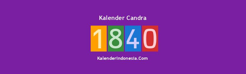 Banner Candra 1840