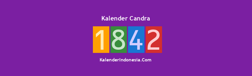 Banner Candra 1842