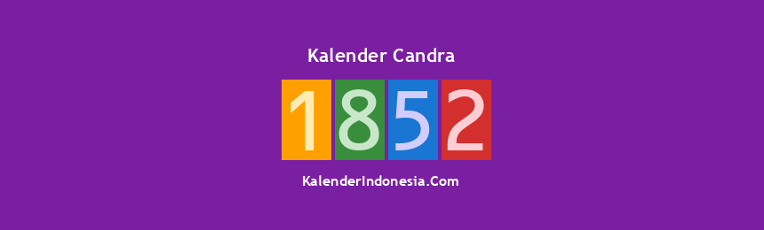 Banner Candra 1852