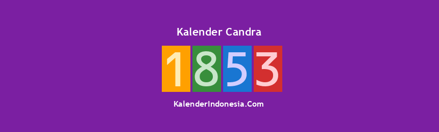Banner Candra 1853