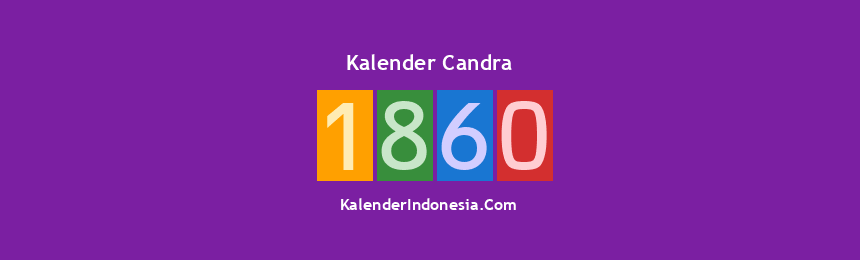 Banner Candra 1860