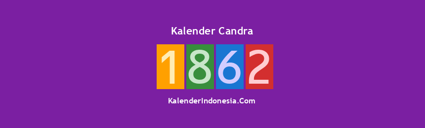 Banner Candra 1862