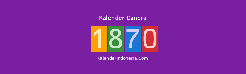 Banner Candra 1870
