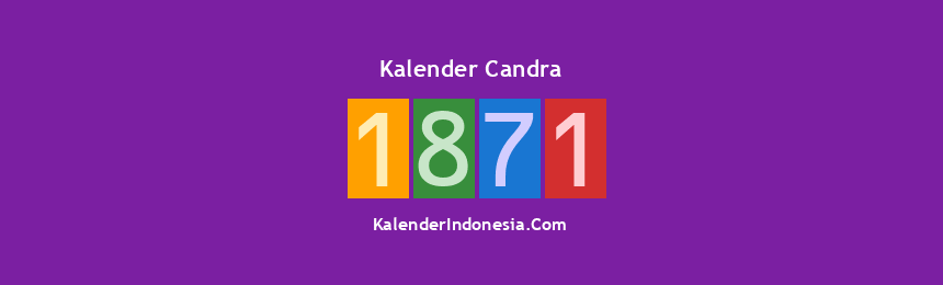 Banner Candra 1871