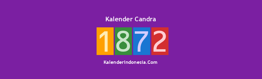 Banner Candra 1872