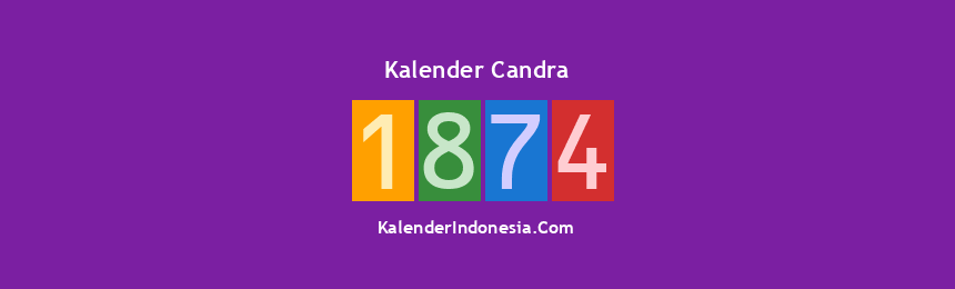 Banner Candra 1874