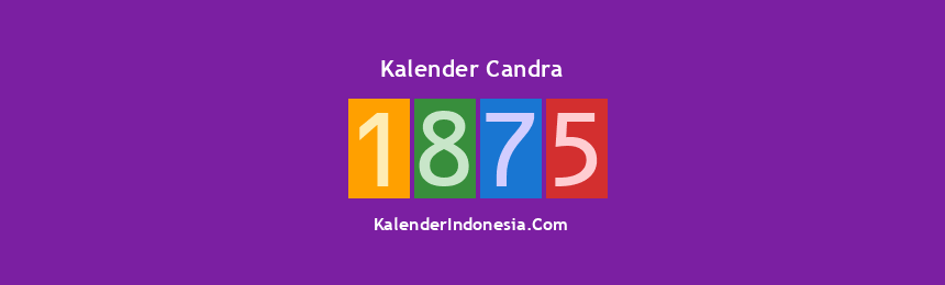Banner Candra 1875