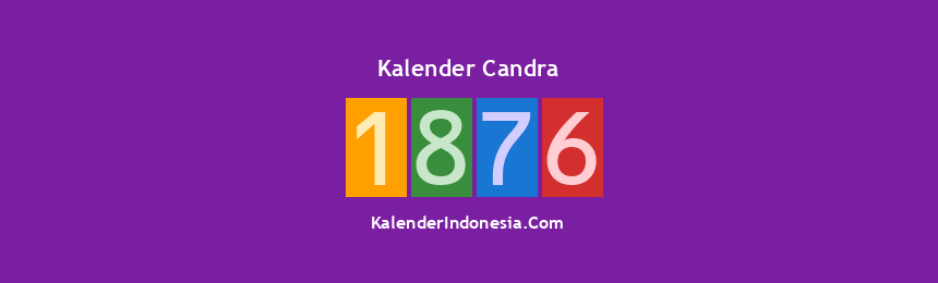 Banner Candra 1876