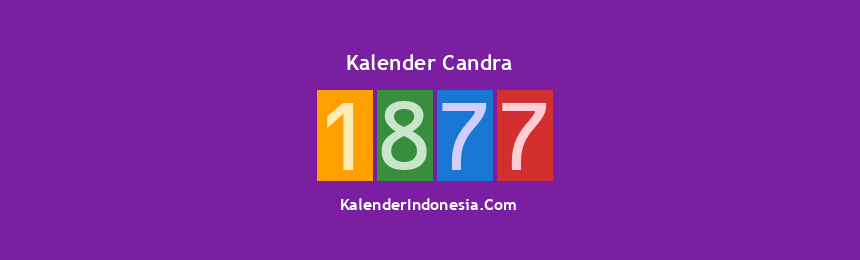 Banner Candra 1877