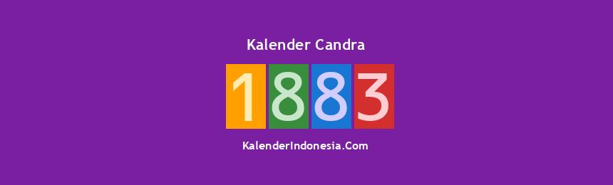 Banner Candra 1883