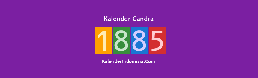 Banner Candra 1885