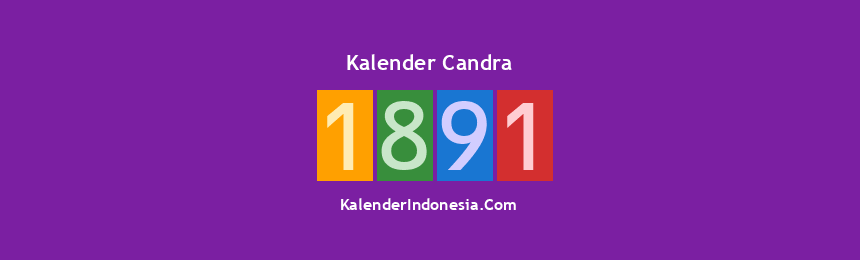 Banner Candra 1891