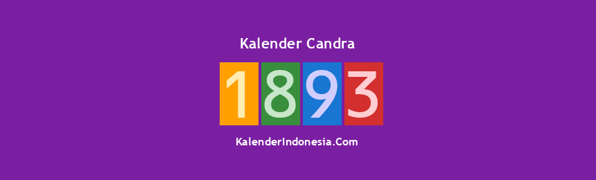 Banner Candra 1893