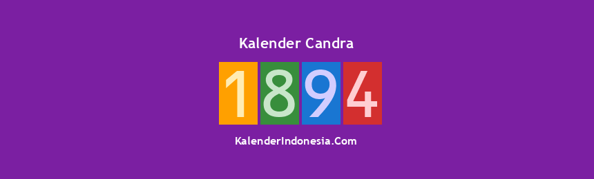 Banner Candra 1894