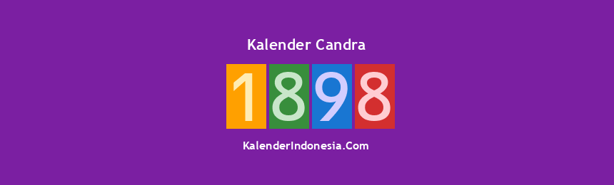 Banner Candra 1898
