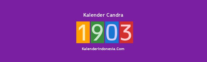 Banner Candra 1903