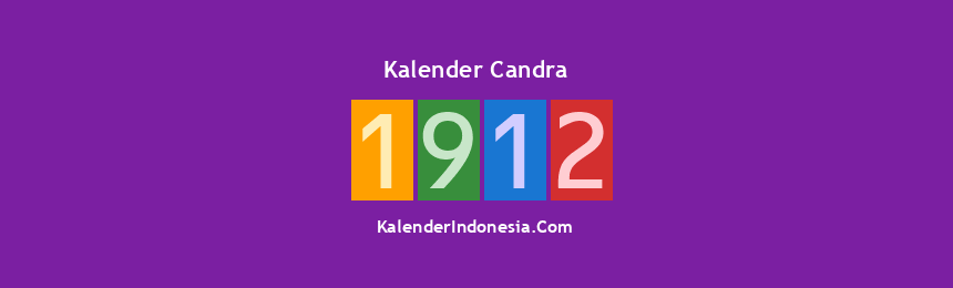 Banner Candra 1912