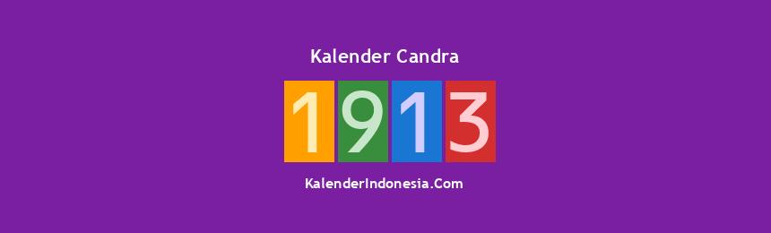 Banner Candra 1913