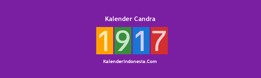 Banner Candra 1917