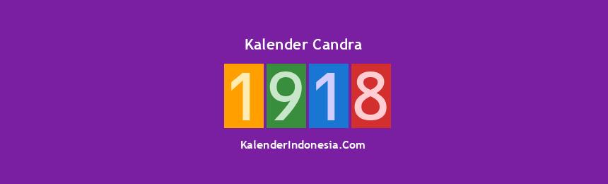 Banner Candra 1918