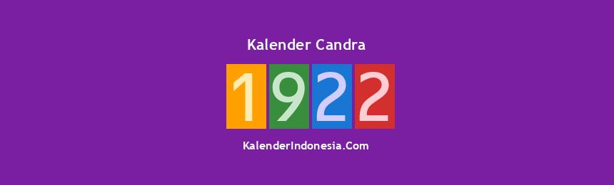 Banner Candra 1922