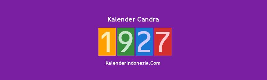 Banner Candra 1927
