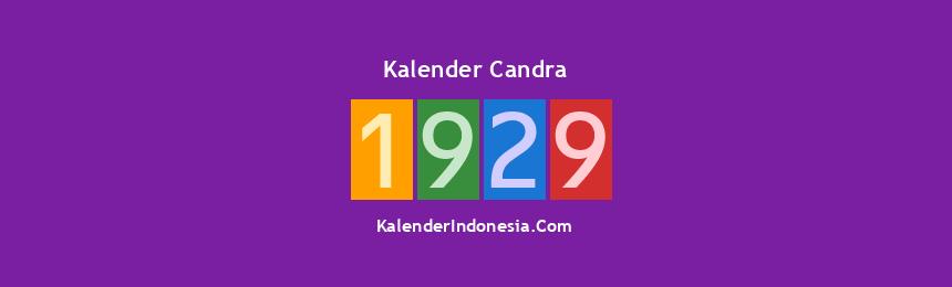 Banner Candra 1929