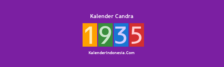 Banner Candra 1935
