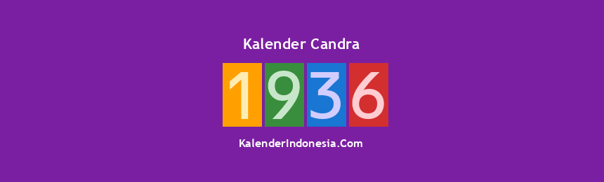Banner Candra 1936