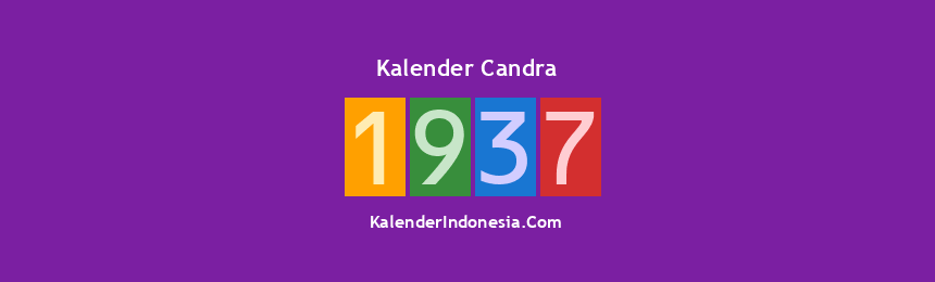 Banner Candra 1937