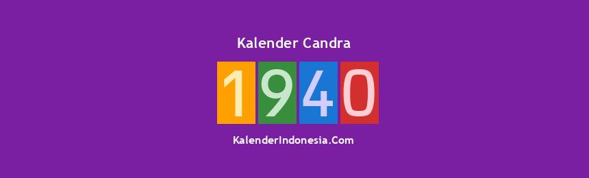 Banner Candra 1940