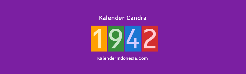 Banner Candra 1942