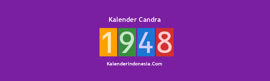 Banner Candra 1948