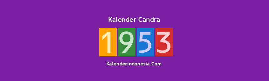 Banner Candra 1953