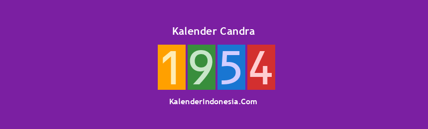 Banner Candra 1954