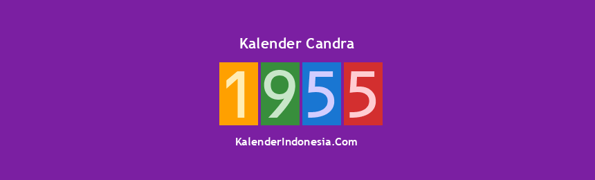 Banner Candra 1955
