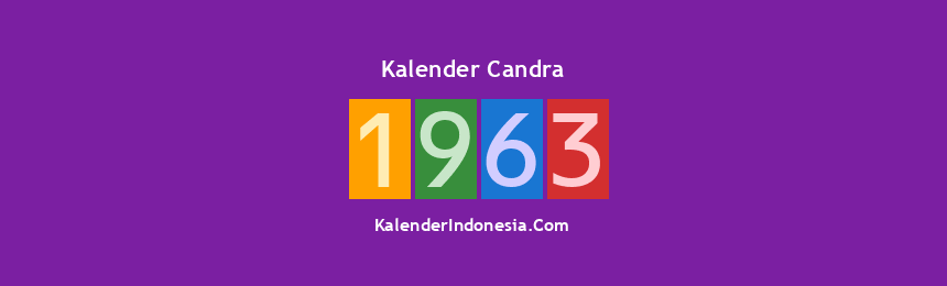 Banner Candra 1963