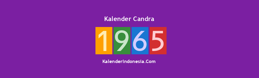 Banner Candra 1965