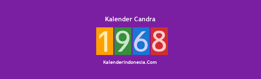 Banner Candra 1968