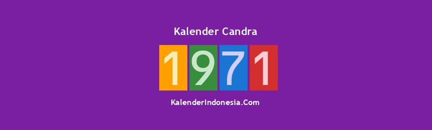 Banner Candra 1971