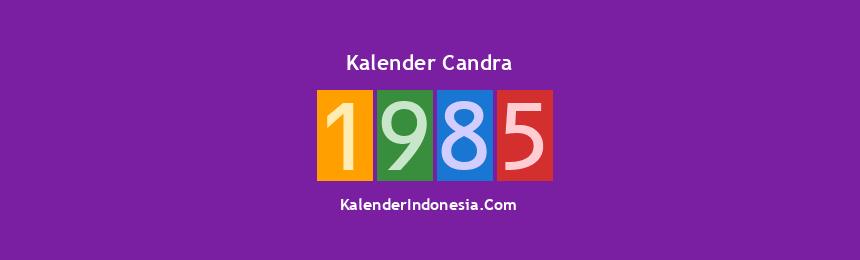 Banner Candra 1985