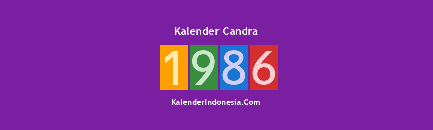 Banner Candra 1986