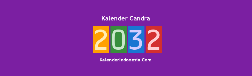 Banner Candra 2032