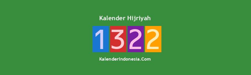 Banner Hijriyah 1322