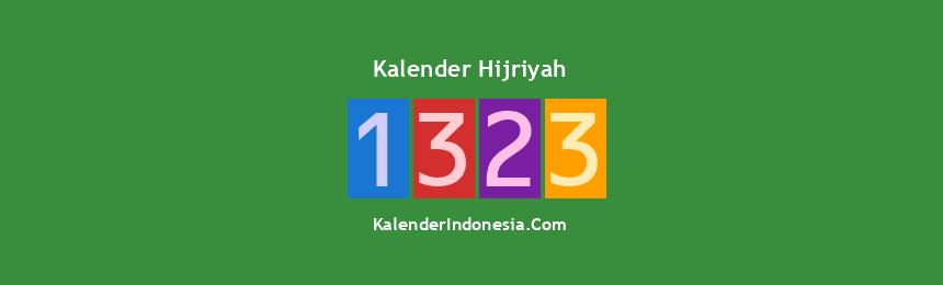 Banner Hijriyah 1323