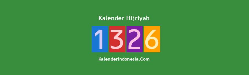 Banner Hijriyah 1326