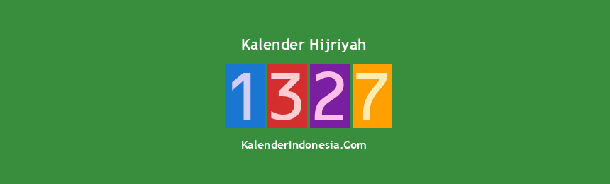 Banner Hijriyah 1327