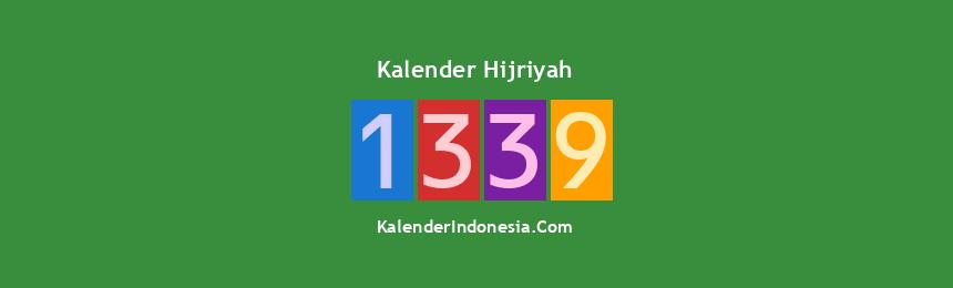 Banner Hijriyah 1339