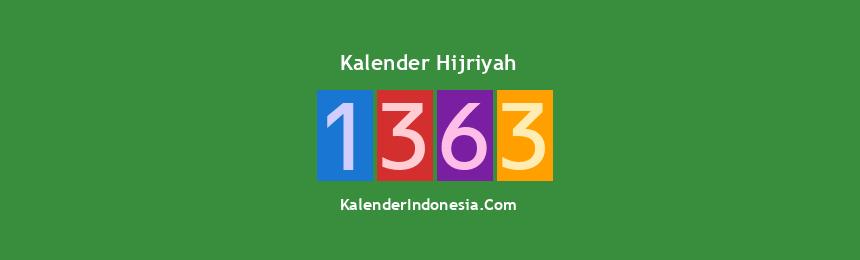 Banner Hijriyah 1363