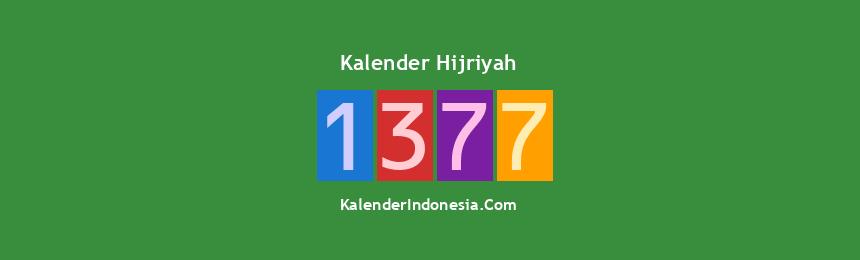 Banner Hijriyah 1377